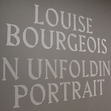 <cite>Louise Bourgeois — An Unfolding Portrait</cite>