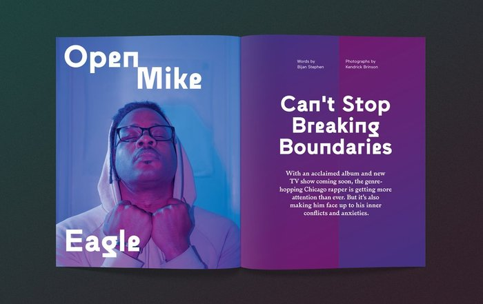 "Anxy magazine No. 3, ""The Boundaries Issue"" 7"