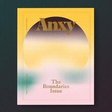 "<cite>Anxy</cite> magazine No. 3, ""The Boundaries Issue"""
