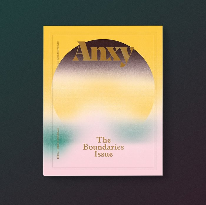 "Anxy magazine No. 3, ""The Boundaries Issue"" 1"