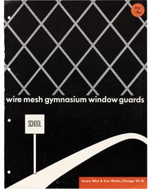 """Wire Mesh Gymnasium Window Guards"" brochure"