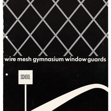 """Wire Mesh Gymnasium Window Guards"" brochure"