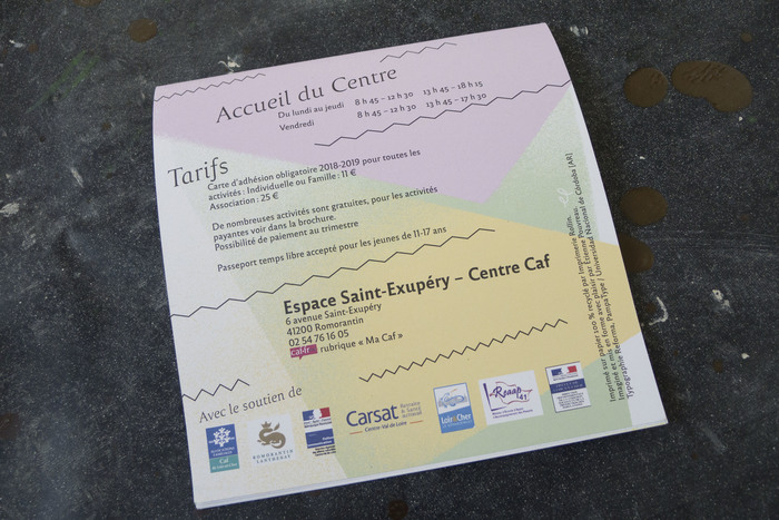 Centres Caf 41 program 2018–19 11