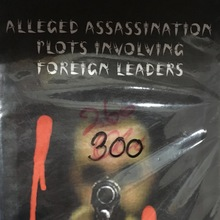 <cite>Alleged Assassination Plots Involving Foreign Leaders</cite>