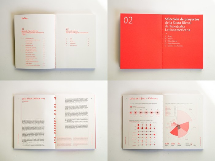 Tipos Latinos 6th Biennale catalogue 6