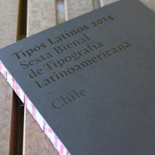 Tipos Latinos 6th Biennale catalogue