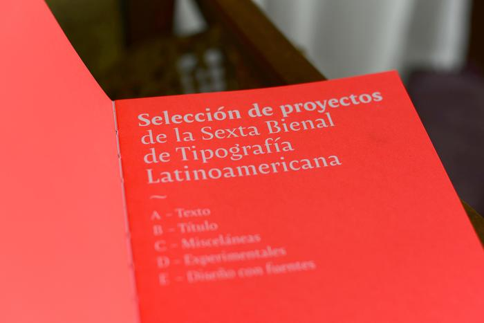 Tipos Latinos 6th Biennale catalogue 7