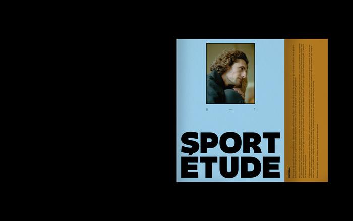 Sport-Étude magazine 1