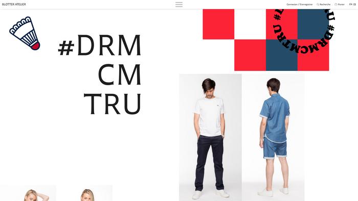 Website, spring/summer 2017