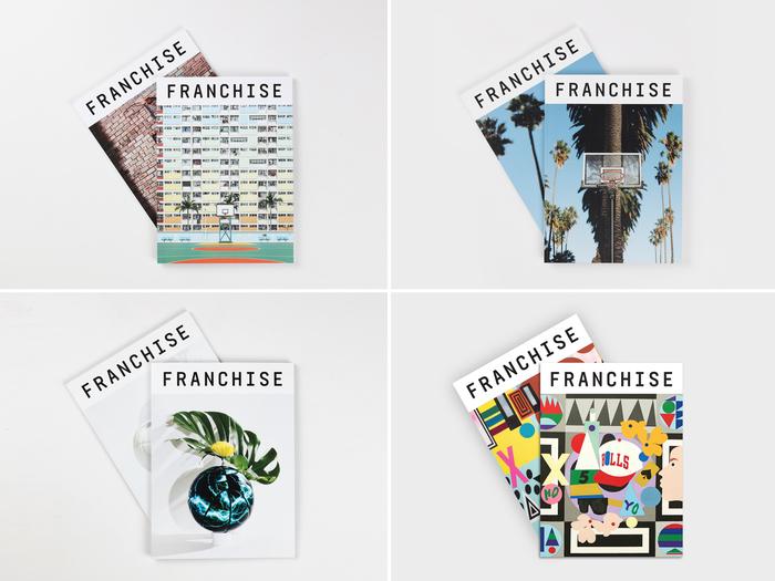 Franchise magazine, issue 01 to 04