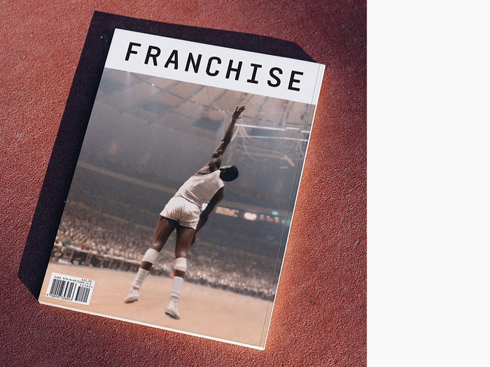 Back cover for Franchise magazine, issue 05