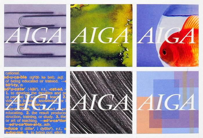 AIGA identity (2000–15) 1