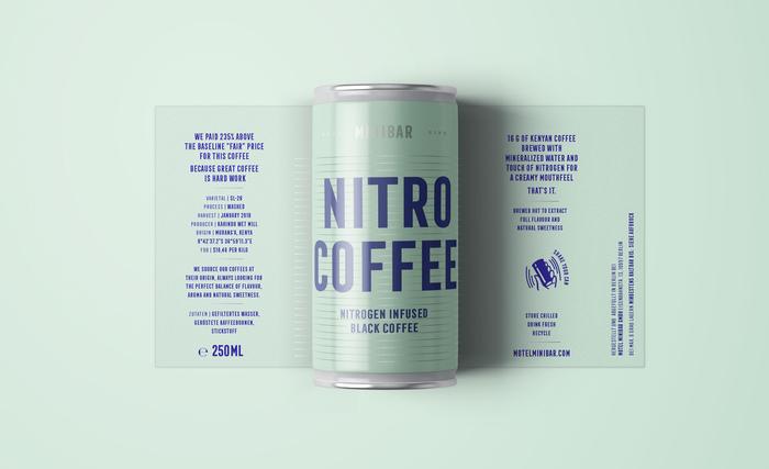 Minibar nitro coffee 1