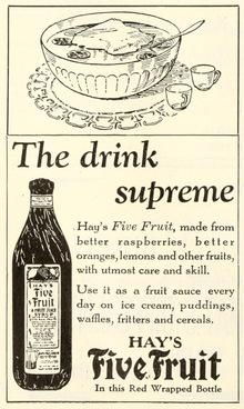 Hay's Five Fruit ad