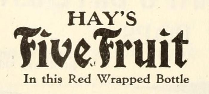 Hay's Five Fruit ad 3