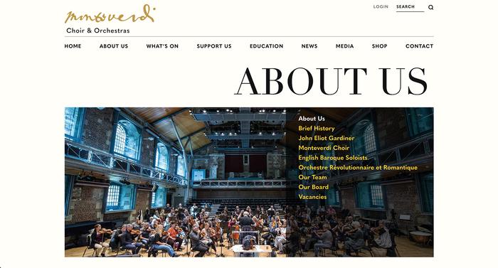 Monteverdi Choir & Orchestras 1