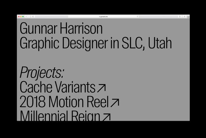 Gunnar Harrison portfolio 1