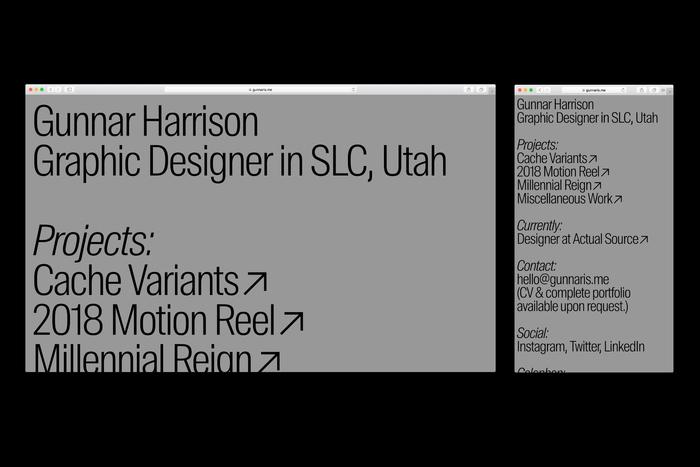 Gunnar Harrison portfolio 2