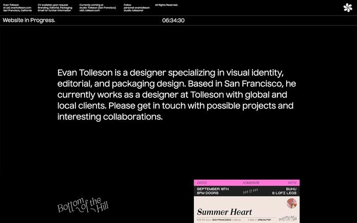 Evan Tolleson portfolio 1