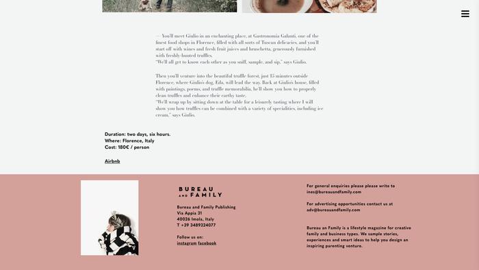 Bureau and Family website 4