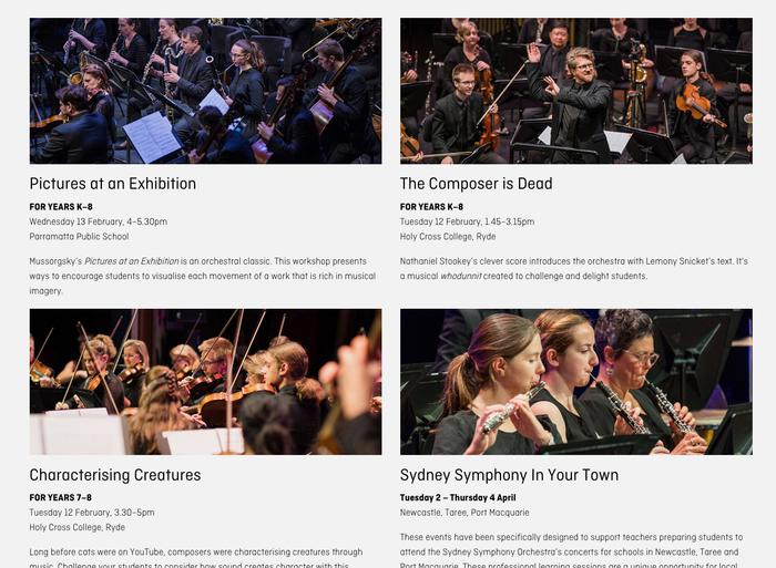 Sydney Symphony Orchestra 16