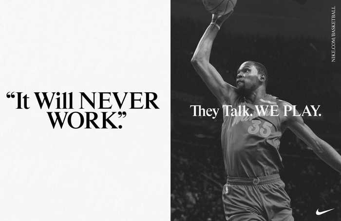 Nike Basketball NBA finals 2017 campaign 6