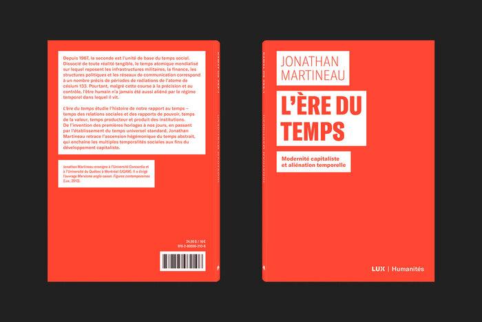 Collection Humanités, Lux Éditeur 3