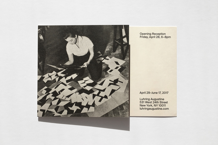 Invitation for Lygia Clark at Luhring Augustine 2