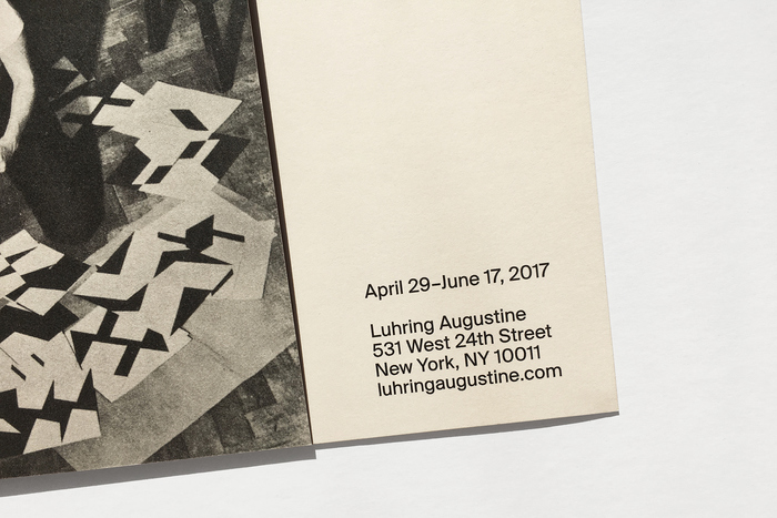 Invitation for Lygia Clark at Luhring Augustine 4