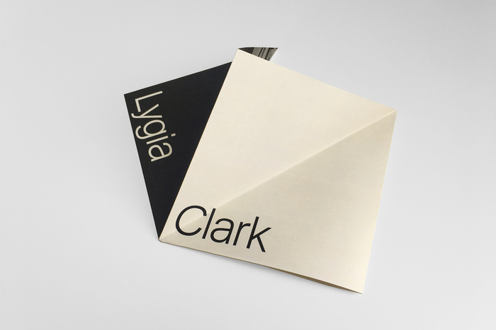 Invitation for Lygia Clark at Luhring Augustine 5