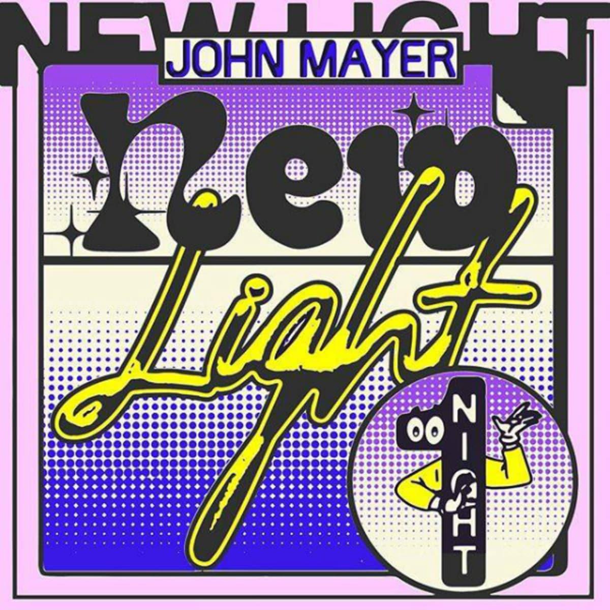 "New Light"" – John Mayer - Fonts In Use"