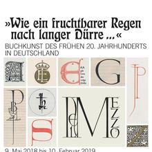 <cite>»Wie ein fruchtbarer Regen nach langer Dürre …«</cite> exhibition poster