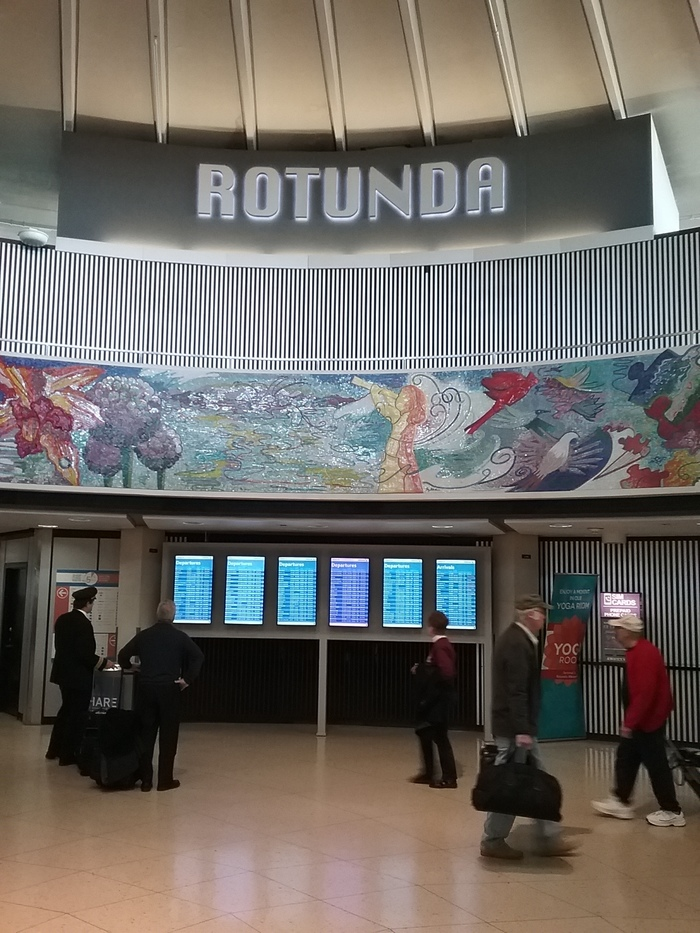 Rotunda at O'Hare International Airport 4