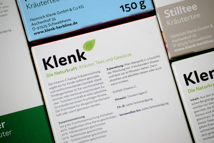 Klenk herbal teas 6