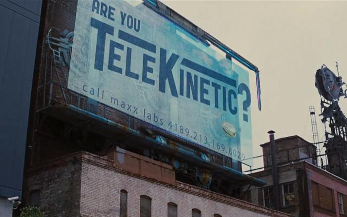 Looper billboard film prop 1
