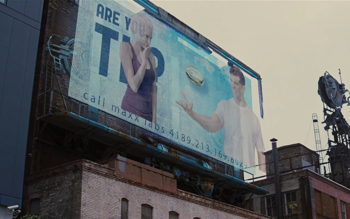 Looper billboard film prop 3