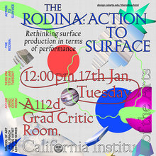 The Rodina Lecture: Action to Surface