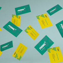 Fusel visual identity