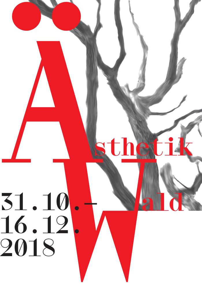 Wald / Ästhetik exhibition poster 1