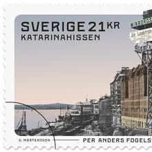 Per Anders Fogelström stamps
