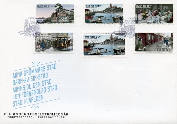 Per Anders Fogelström stamps 2