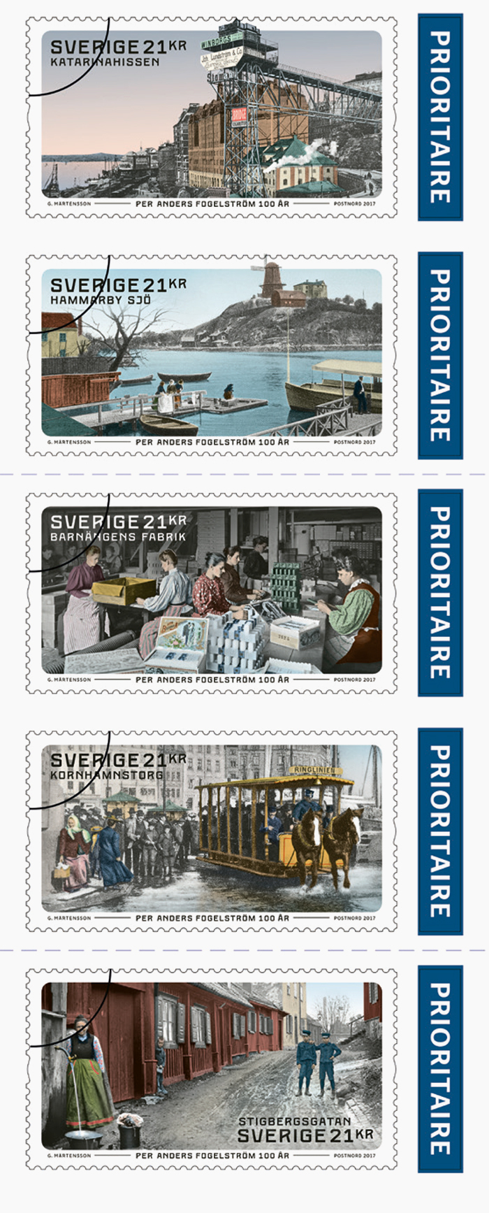 Per Anders Fogelström stamps 3