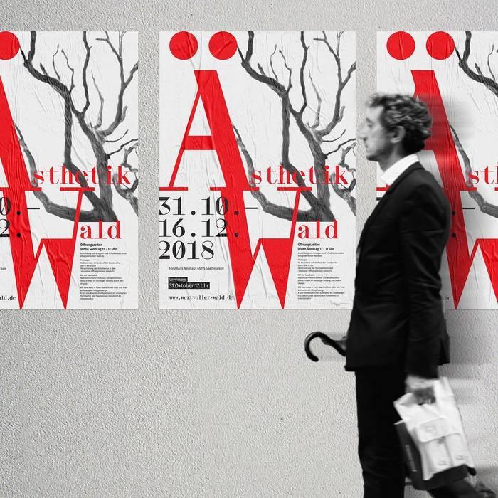 Wald / Ästhetik exhibition poster 2