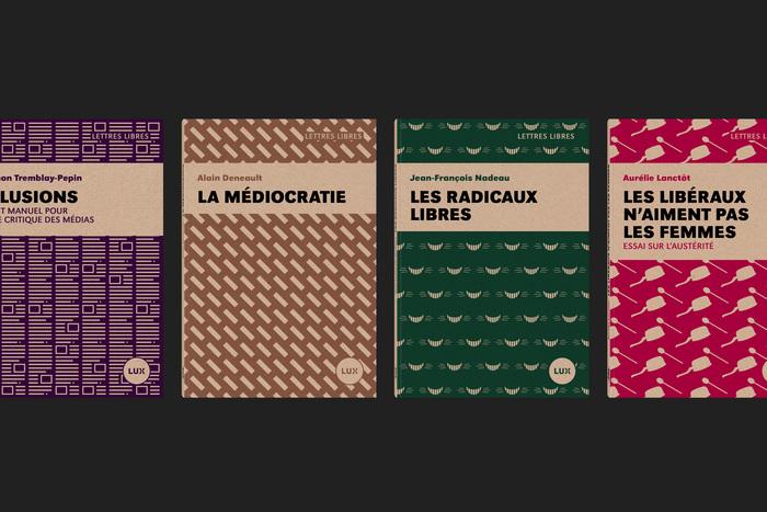 Lettres Libres collection, Lux Éditeur 2