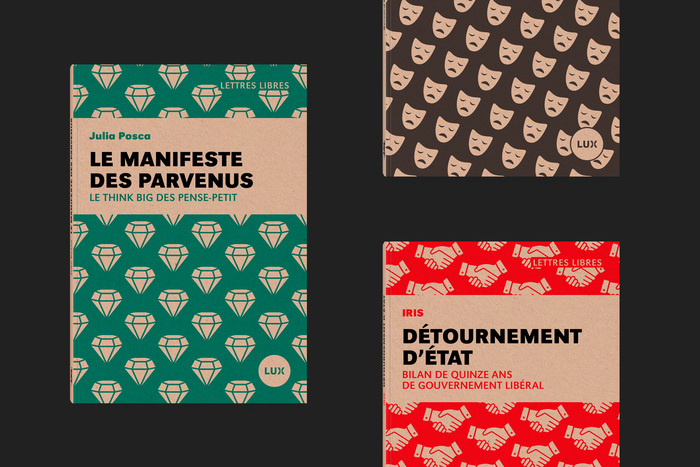 Lettres Libres collection, Lux Éditeur 4
