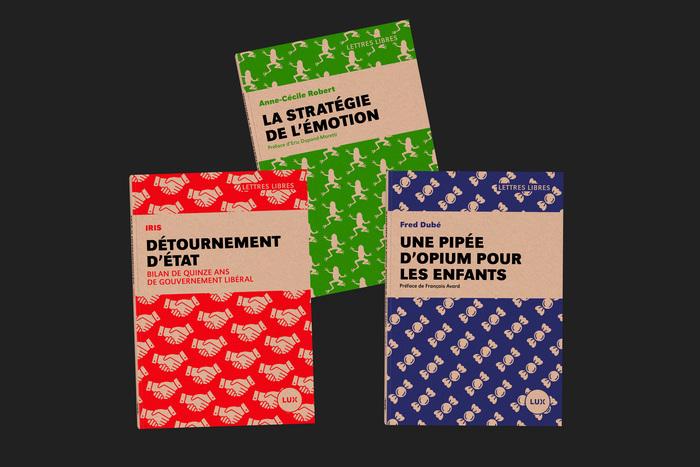 Lettres Libres collection, Lux Éditeur 6