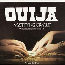 Parker Brothers Ouija packaging (1972 edition)