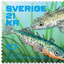 Fish in the Nordic Countries stamps