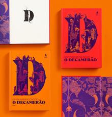 <cite>O Decamerão</cite> – Giovanni Boccaccio (Editora Nova Fronteira)
