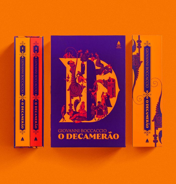 O Decamerão – Giovanni Boccaccio (Editora Nova Fronteira) 2